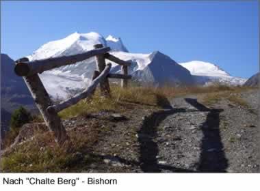 Nach Chalte Berg - Bishorn