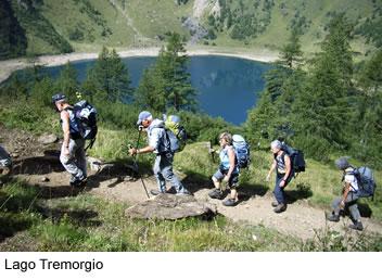 Wandern am Lago Tremorgio