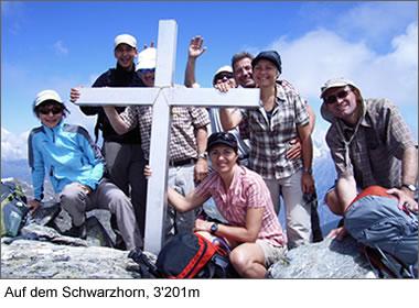 Auf dem Schwarzhorn, 3201m