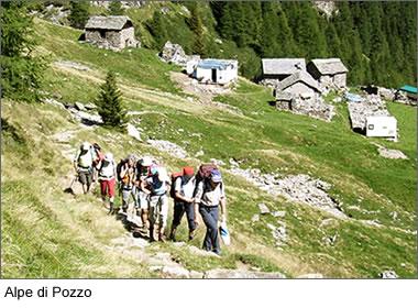 Wanderwoche in Malgavlia: Alpe di Pozzo